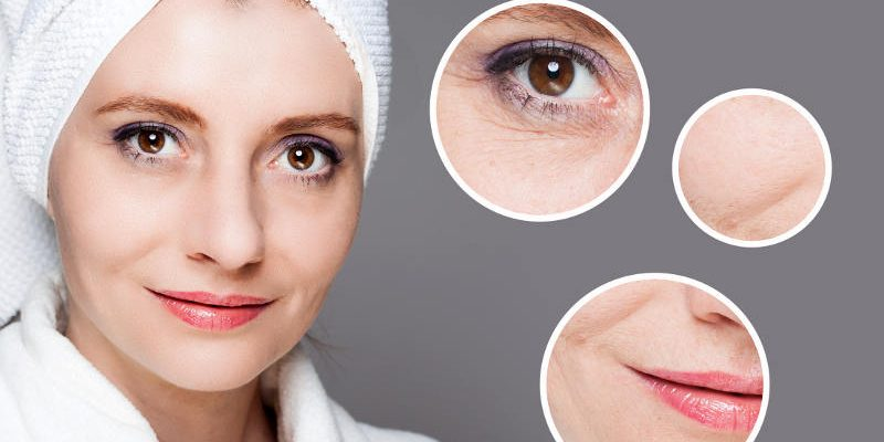причини за стареене на кожата