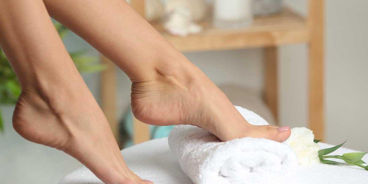 суха кожа на стъпалата
